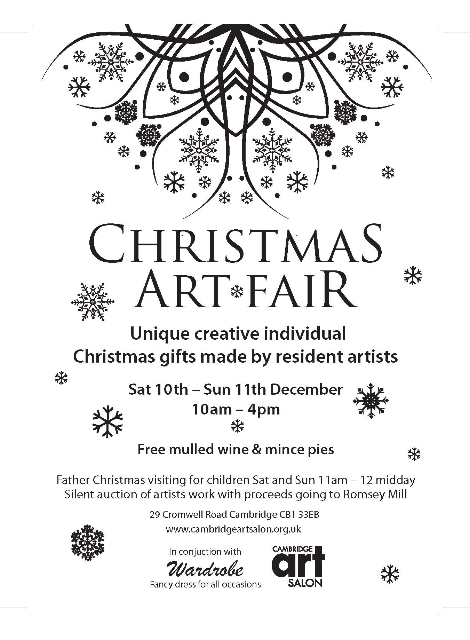 Christmas Art Fair 10-11 December