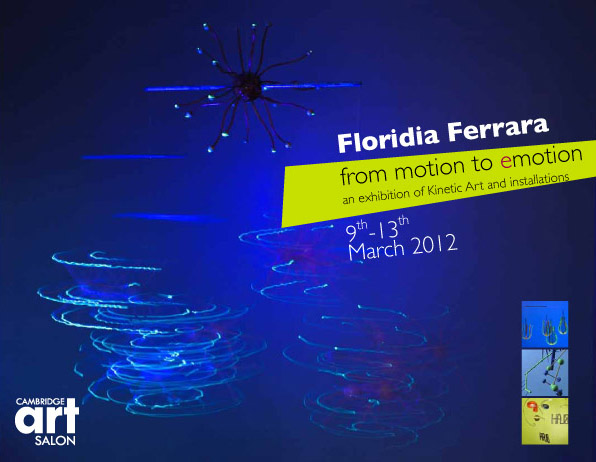 Floridia Ferrara - From motion to 'e'motion @ the Cambridge Art