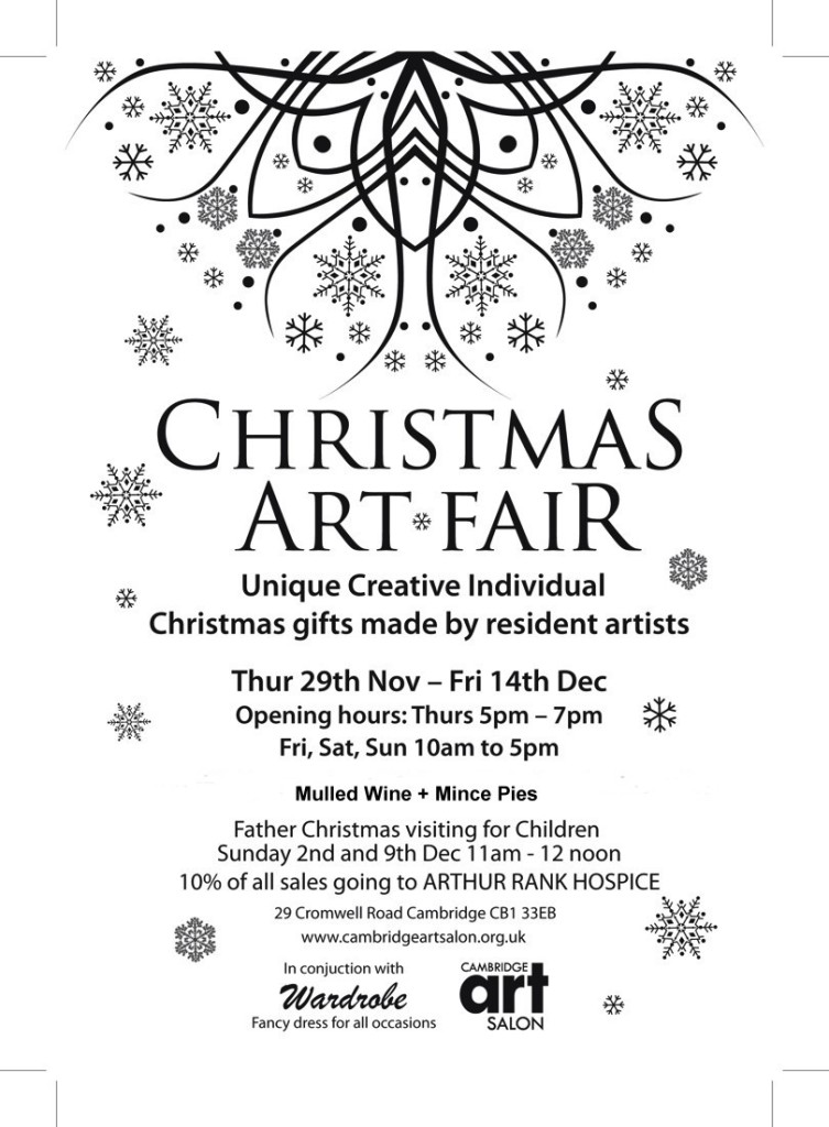 Cambridge Art Salon Christmas Fair